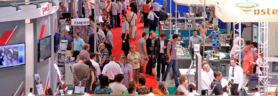 Exhibition area of 6,000 sq.m. / More than 300 participating companies